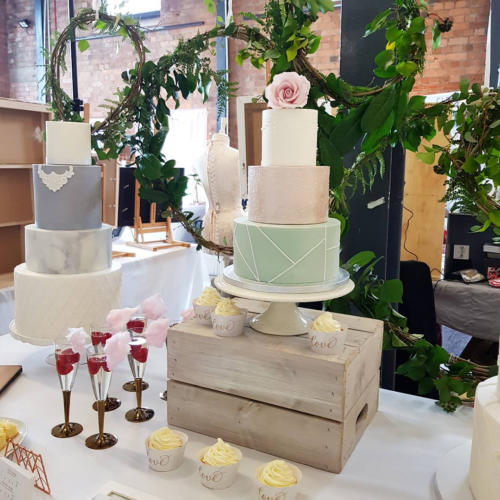 M Bakery Chosen Wedding Spring Fair 2018 close up